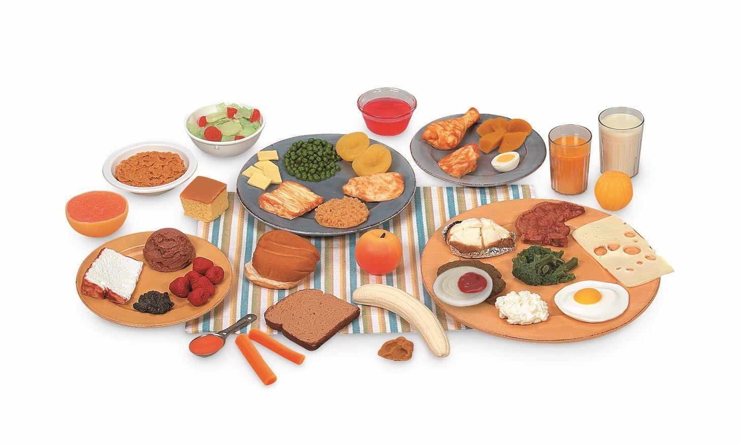 Paquetes de réplicas de alimentos Nasco