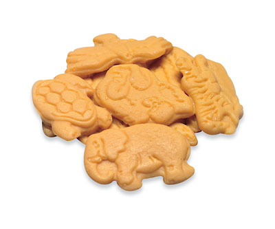 Réplica de galletas de animalitos, una porción Nasco