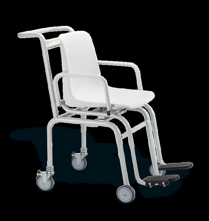 Báscula con silla de ruedas marca seca