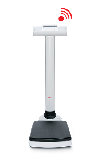 Báscula digital de columna marca seca modelo 703