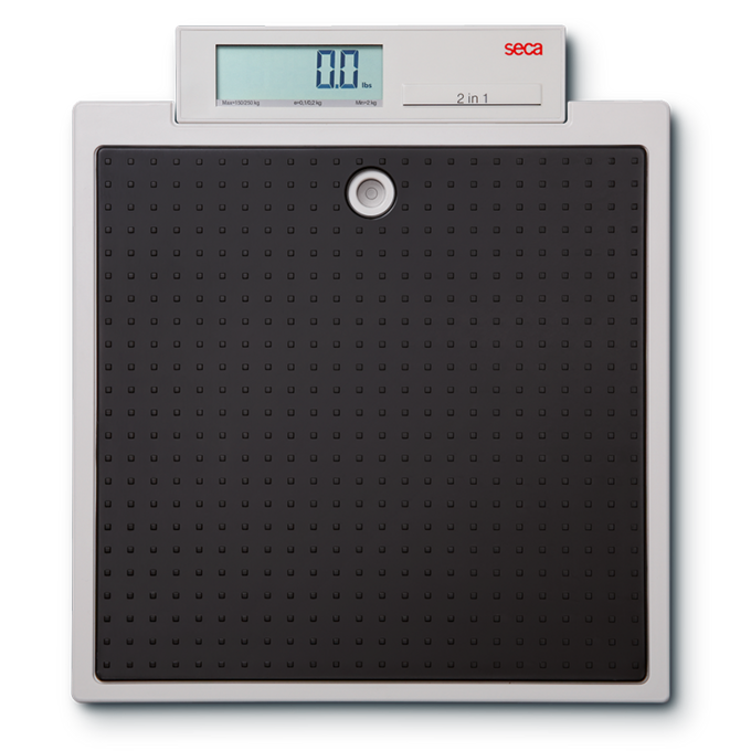 Báscula de piso digital marca seca modelo 876