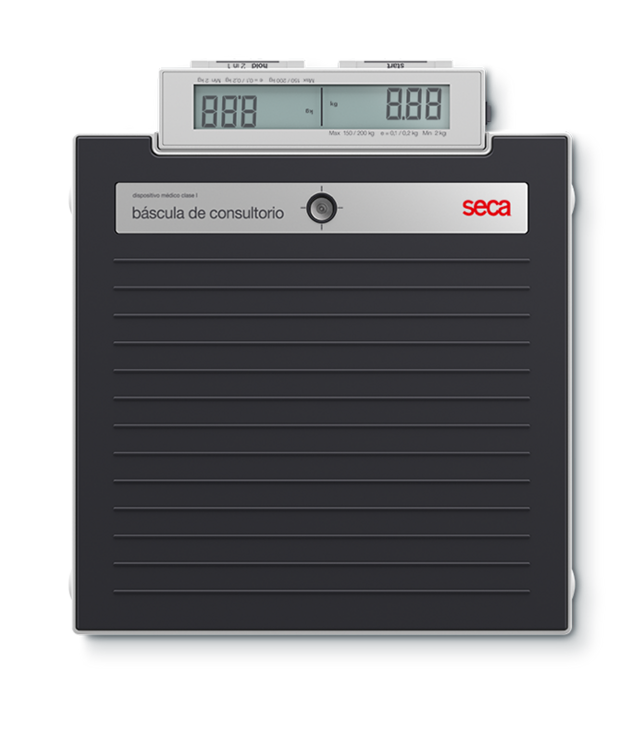 Báscula de consultorio digital de piso marca seca modelo 874dr