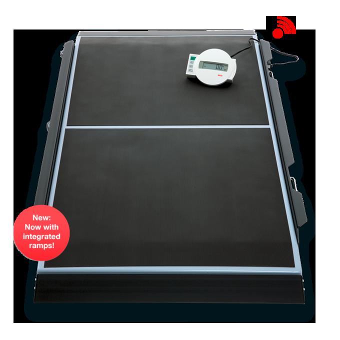 Báscula de plataforma digital marca seca modelo 656