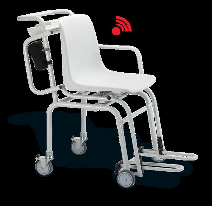 Báscula con silla de ruedas marca seca modelo 954