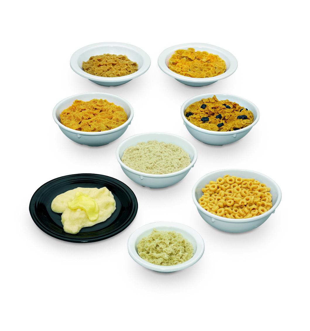 Réplicas de platos con cereales Nasco