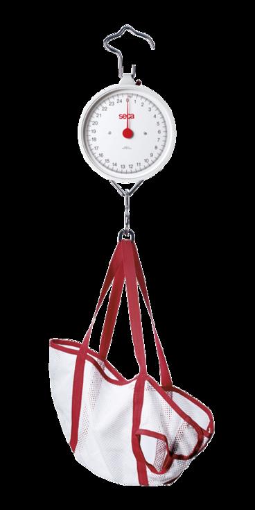 Báscula mecánica pediátrica marca seca 310