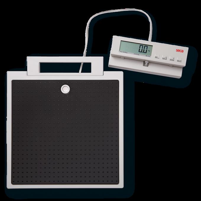 Báscula de piso digital con monitor separado seca 869