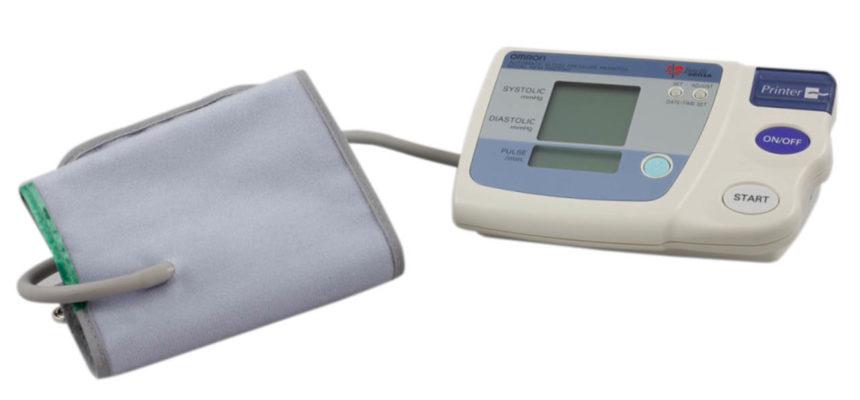 Medidor de presión arterial Omron