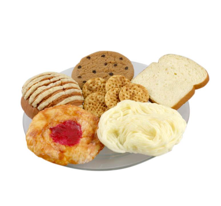 Réplicas variadas de pan dulce Nasco
