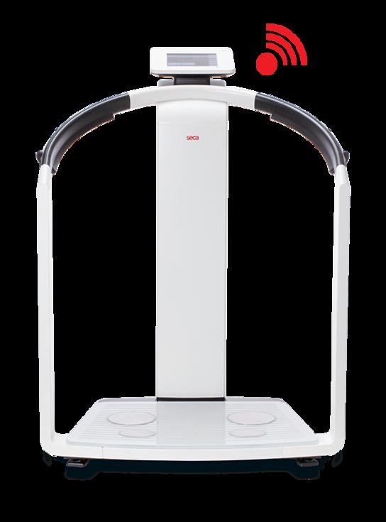 seca Mbca impedancia eléctrica para medición de composición corporal segmental 19 frecuencias