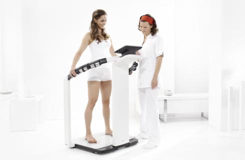Mbca impedancia electrica para medición de composición corporal seca