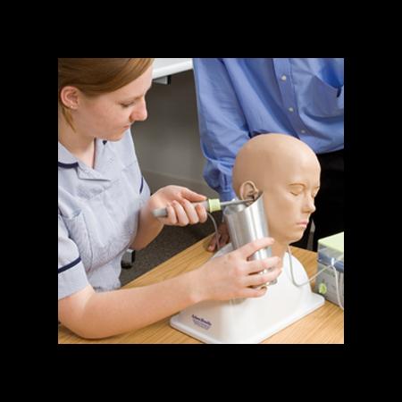 Entrenado de manejo de jeringa en el oído adam rouilly ar301i taq sistemas médicos