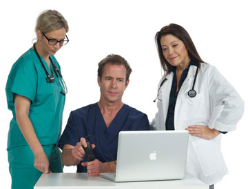 Prácticas de grupo de médicos sonosim