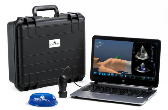 solución de entrenamiento de ultrasonido SonoSim